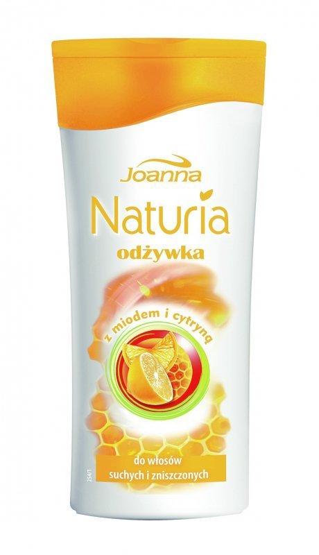 Joanna Naturia Odżywka do włosów Miód i cytryna  200g