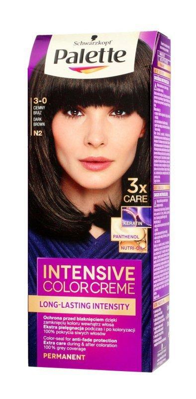 Palette Intensive Color Creme Krem koloryzujący nr N2-ciemny brąz  1op.