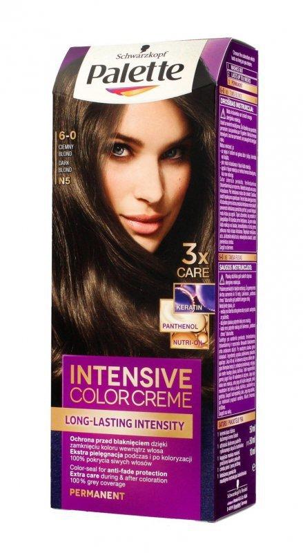 Palette Intensive Color Creme Krem koloryzujący nr N5-ciemny blond  1op.