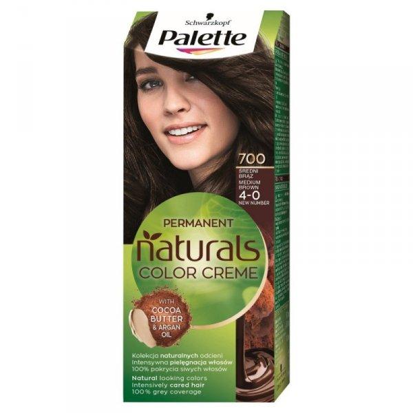 Palette Permanent Natural Colors Średni Brąz nr 700  1op.