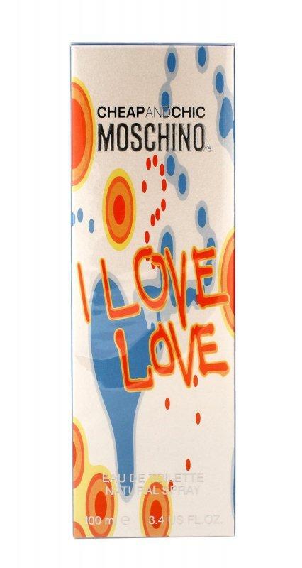 Moschino I Love Love Woda toaletowa  100ml