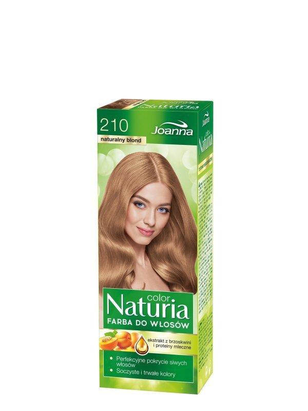 Joanna Naturia Color Farba do włosów nr 210-naturalny blond  150g