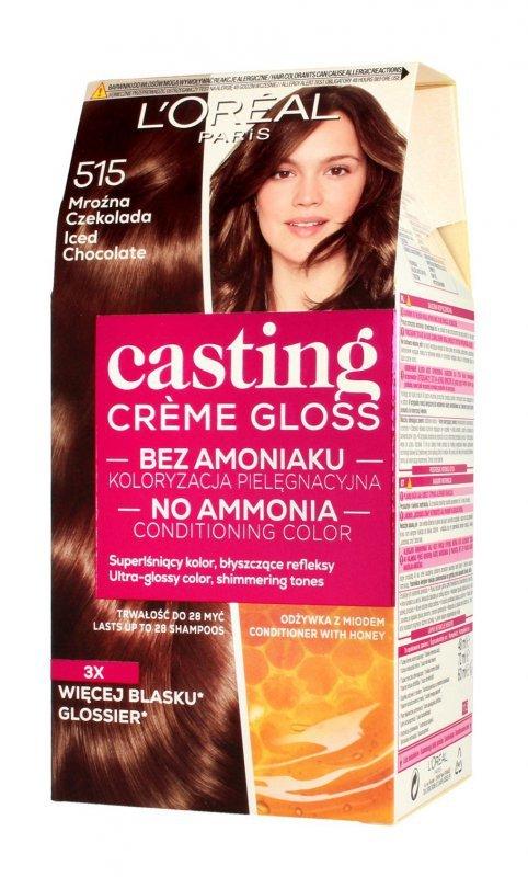 Casting Creme Gloss Krem koloryzujący nr 515 Mroźna Czekolada 1op.