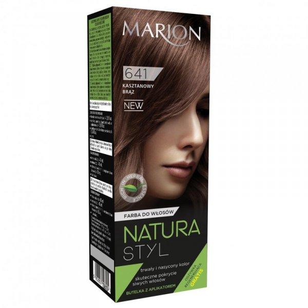 Marion Farba do włosów Natura Styl nr 641 kasztanowy brąz