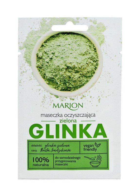 Marion Spa Maseczka na twarz z Zieloną Glinką Oczyszczająca 8g