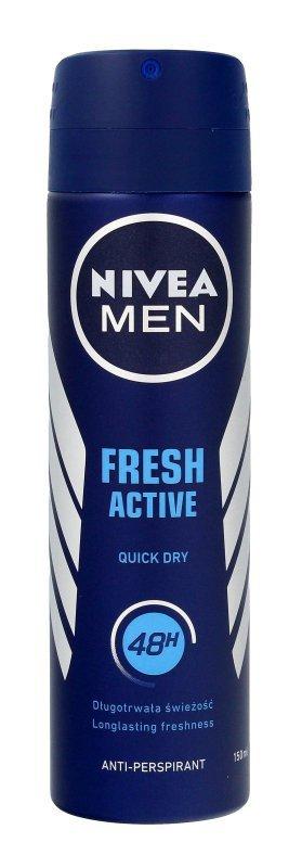 Nivea Dezodorant FRESH ACTIVE spray męski  150ml