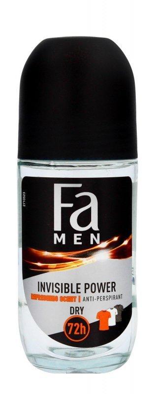 Fa Men Xtreme Invisible Power 72H Dezodorant roll-on 50ml