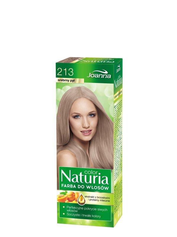 Joanna Naturia Color Farba do włosów nr 213-srebrny pył  150g