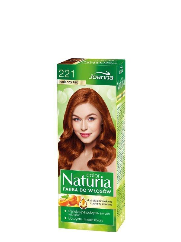 Joanna Naturia Color Farba do włosów nr 221-jesienny liść  150g