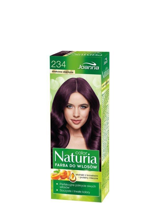 Joanna Naturia Color Farba do włosów nr 234-śliwkowa oberżyna  150g