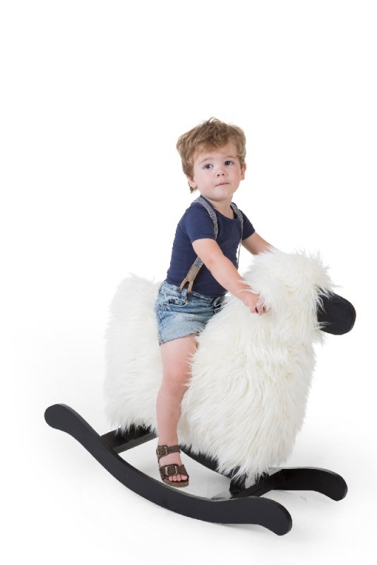 Childhome Bujak na biegunach owca Black