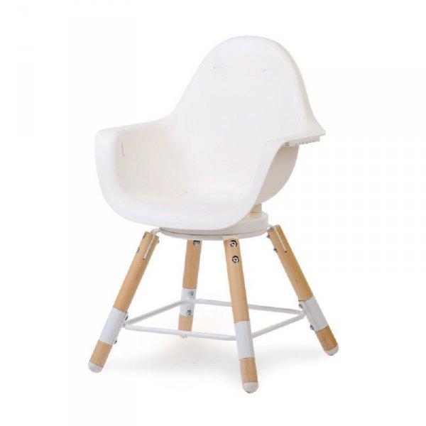 Childhome Krzesełko do karmienia Evolu 2 ONE.80° Natural/White