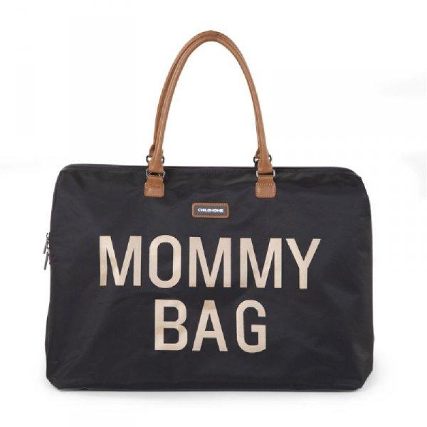 Childhome Torba Mommy Bag Czarno-Złota