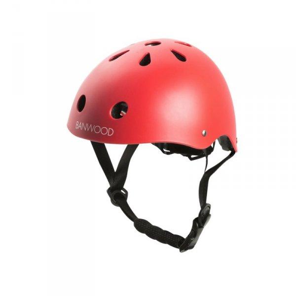 Banwood dziecięcy kask rowerowy red