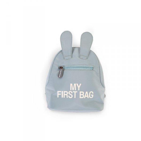 Childhome Plecak dziecięcy My First Bag Szary