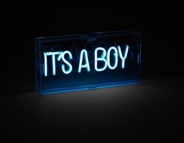 Childhome Lampka Neon It's A Boy