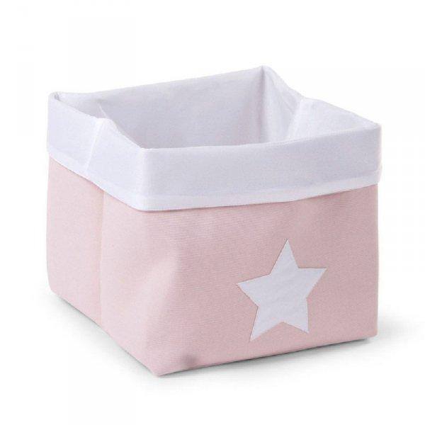 Childhome Pudełko płócienne 32 x 32 x 29 cm Soft Pink