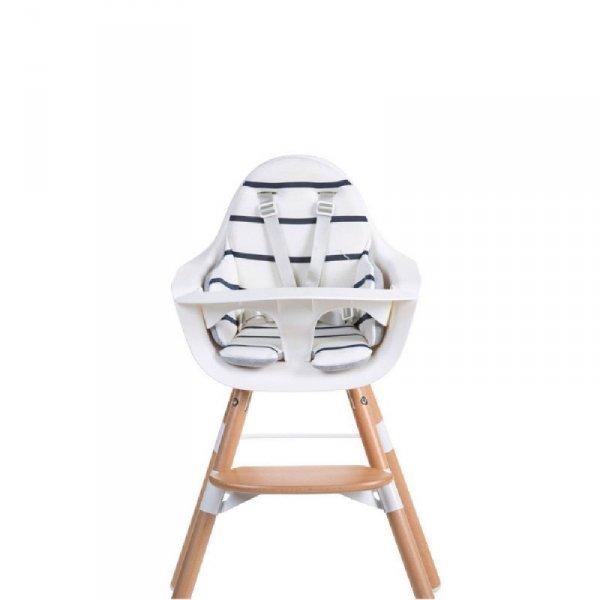 Childhome Dwustronny ochraniacz do krzesełka Evolu 2 Jersey Grey/Marin