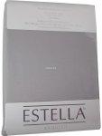 Prześcieradło zwirn-jersey z gumką Estella platin