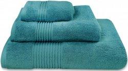 Nowoczesny ręcznik jednolity turkusowy 700g - 30x50, 50x100, 70x140