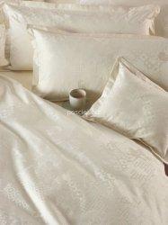 Exclusive Curt Bauer poszewka na poduszkę mako-żakardowa Culture cream