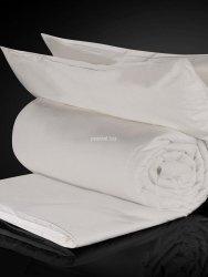Zestaw jedwab-bawełna: kołdra jedwabna całoroczna Malbery 220x240+ poduszki