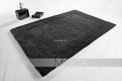 Dywanik łazienkowy MOCA Design grafitowy 60x60, 50x80, 60x100, 70x130