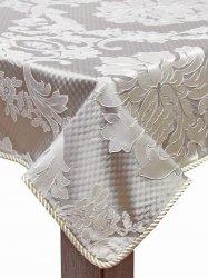 Obrus dekoracyjny Glamour jasny brąz