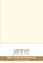 Janine prześcieradło jersey z gumką natur