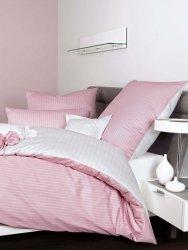 Janine mako-satyna modernClassic różowa w paski 3936 240x220
