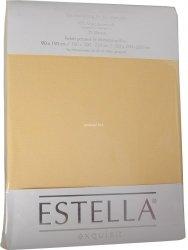 Prześcieradło zwirn-jersey z gumką Estella quitte