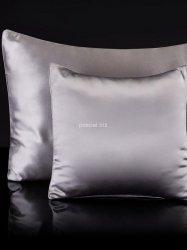 Jedwabna poszewka na poduszkę silver 40x40, 40x60, 50x70, 70x80