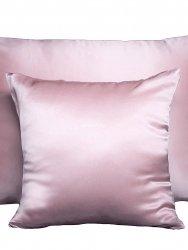 Jedwabna poszwa na kołdrę różowa 200x220