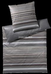 Joop poszewka mako-satin Micro lines stone shades 4099 40x80, 80x80