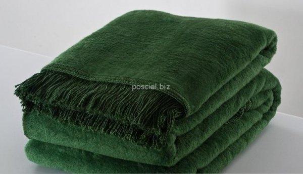 Moca desgin koc jednolity zielony
