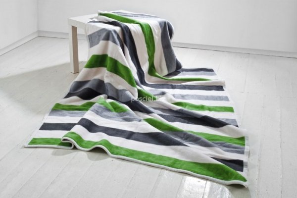 Moca desgin koc Stripes green
