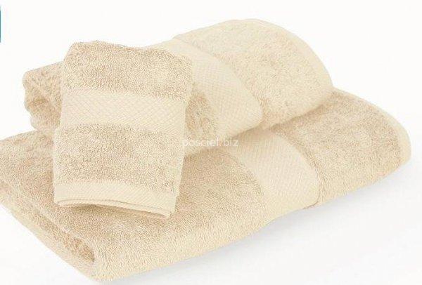 Ręcznik jednolity kremowy 700g - 50x100