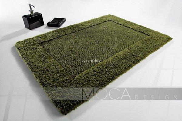 Dywanik łazienkowy MOCA Design oliwkowy 50x75, 60x100, 70x130