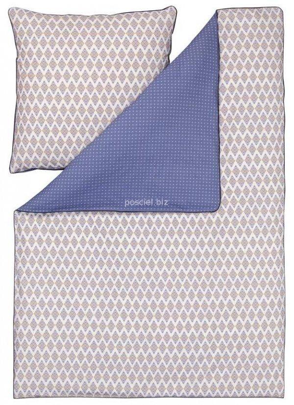 Estella pościel bio-bawełniana Casablanca blau 3205 155x200