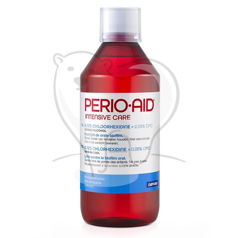 PERIO AID Intensive Care - Płyn do płukania ust z chloreksydyną 0,12%