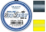 yłka Dragon SEA MASTER Trolling 300m 0.45 mm/16.40 kg szara