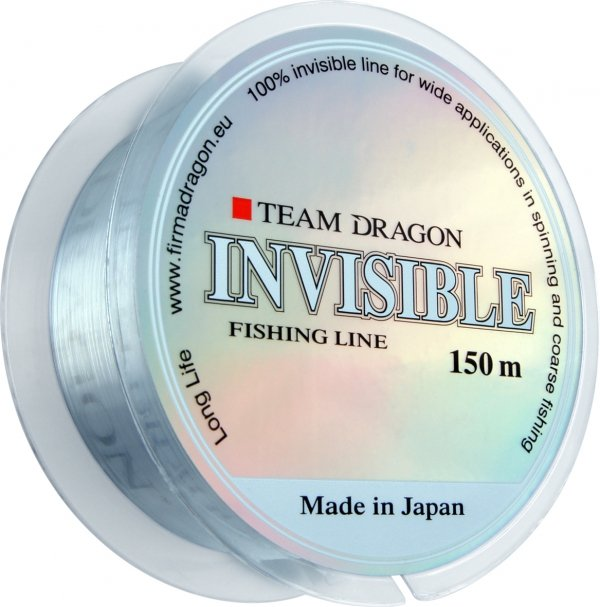 Żyłka TEAM DRAGON INVISIBLE 150 m bezbarwna 0.16 mm/3.30 kg