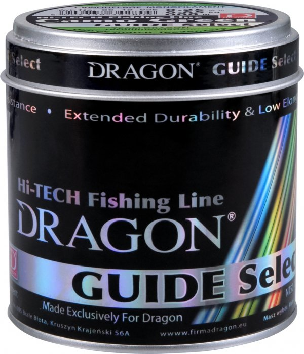 Żyłka Dragon GUIDE SELECT Camo Green 600 m zielona 0.28 mm/9.40 kg