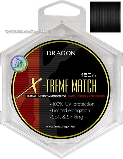 Żyłka DRAGON X-TREME MATCH Soft &Sinking 150 m 0.20 mm/3.60 kg