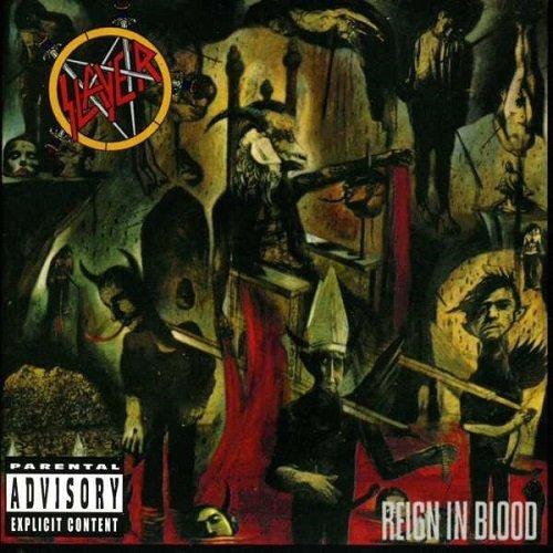 Slayer - Reign In Blood [CD], Album, Okładka