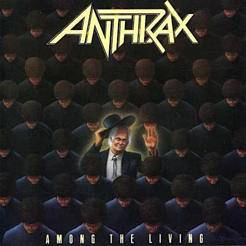 Anthrax - Among The Living [CD], Album Okładka