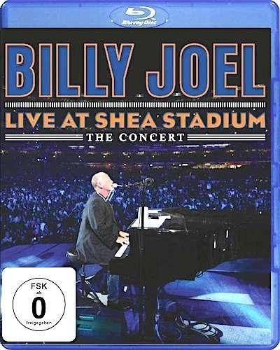 Billy Joel - Live At Shea Stadium The Concert [Blu-ray], Okładka