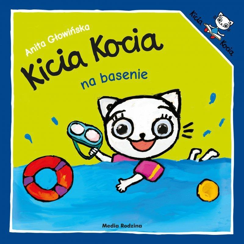 Kicia Kocia Na Basenie [Anita Głowińska], Okładka