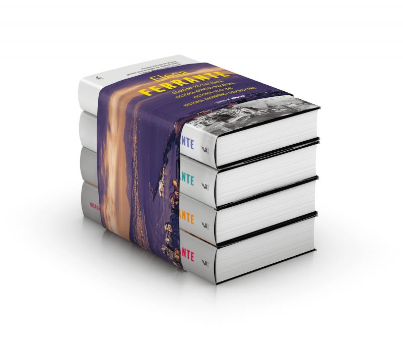 Pakiet Genialna Przyjaciółka - Elena Ferrante, Książka, Okładka