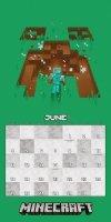 Minecraft - Oficjalny Kalendarz 2018
